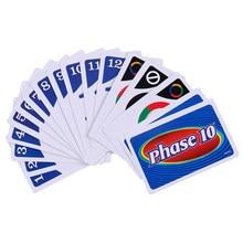 1 caixa desafio cartão fase 10 jogo de cartas lazer e entretenimento festa da família jogando cartas desafio brinquedos