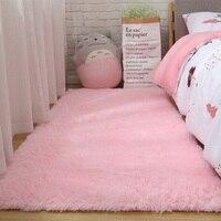 الصلبة السجاد الوردي Puple السجاد سمكا الحمام سجادة ضد الإنزلاق منطقة البساط لغرفة المعيشة لينة غرفة نوم الطفل حصيرة