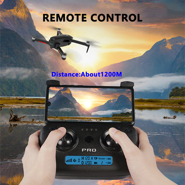 Drone SG906 / SG906 Pro with GPS 4K 5G WIFI 2-axis gimbal Dual camera professional ESC 50X Zoom Brushless Quadcopter RC Dron 3