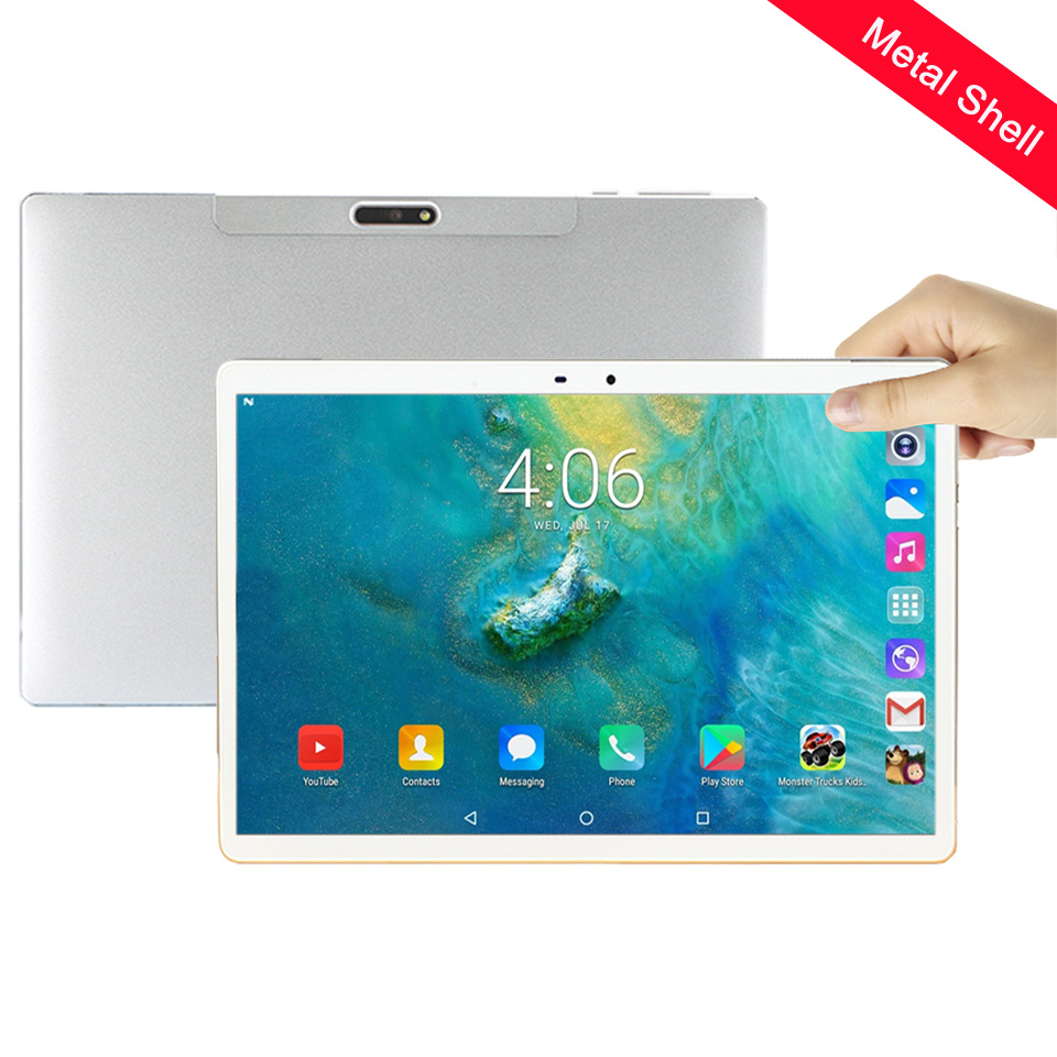 10.1 Inch Tablet 4G Phone Call Tablet 10.1 1920*1200 Android Tablet 10.1 Deca Core MT6797 Kids Tablet GPS