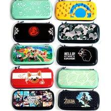 Estuche de transporte para Nintendo Switch Lite, bolsa de almacenamiento portátil, carcasa dura con ranura para tarjeta de juego, bolsillo interior, accesorios para NS Lite