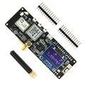 LILYGO®TTGO Т-образной балки V1.0 ESP32 433/868/915/923 МГц Bluetooth модуль беспроводного доступа Wi-Fi, ESP32 gps NEO-6M SMA 18650 Батарея держатель с органическим светодиод...
