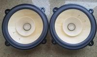 2 two unit Melo David audio hiend 8inch wooden cone fullrange full range speaker