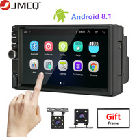 Android Car Radio 2 Din 7 Multimedia Player Universal Auto radio GPS Mirror Link for Volkswagen Nissan Toyota Honda + ISO Cable