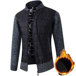 FALIZA-chandails à manches longues pour hommes, nouvelle collection d'hiver en tricot épais et chaud, manteau en laine tricotée, XY107