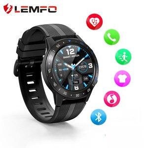 Image 1 - LEMFO חכם שעון GPS גברים M5S 2G עמיד למים IP67 לב קצב Tracker לחץ דם צג Bluetooth שיחות Smartwatch