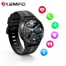 Lemfo Smart Horloge Gps Mannen M5S 2G Waterdicht IP67 Hartslag Tracker Bloeddrukmeter Bluetooth Oproepen Smartwatch