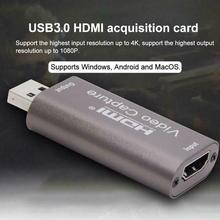 Box Video-Capture Live-Streaming Hdmi-Compatible To Audio Usb-3.0 Card-Game Recording