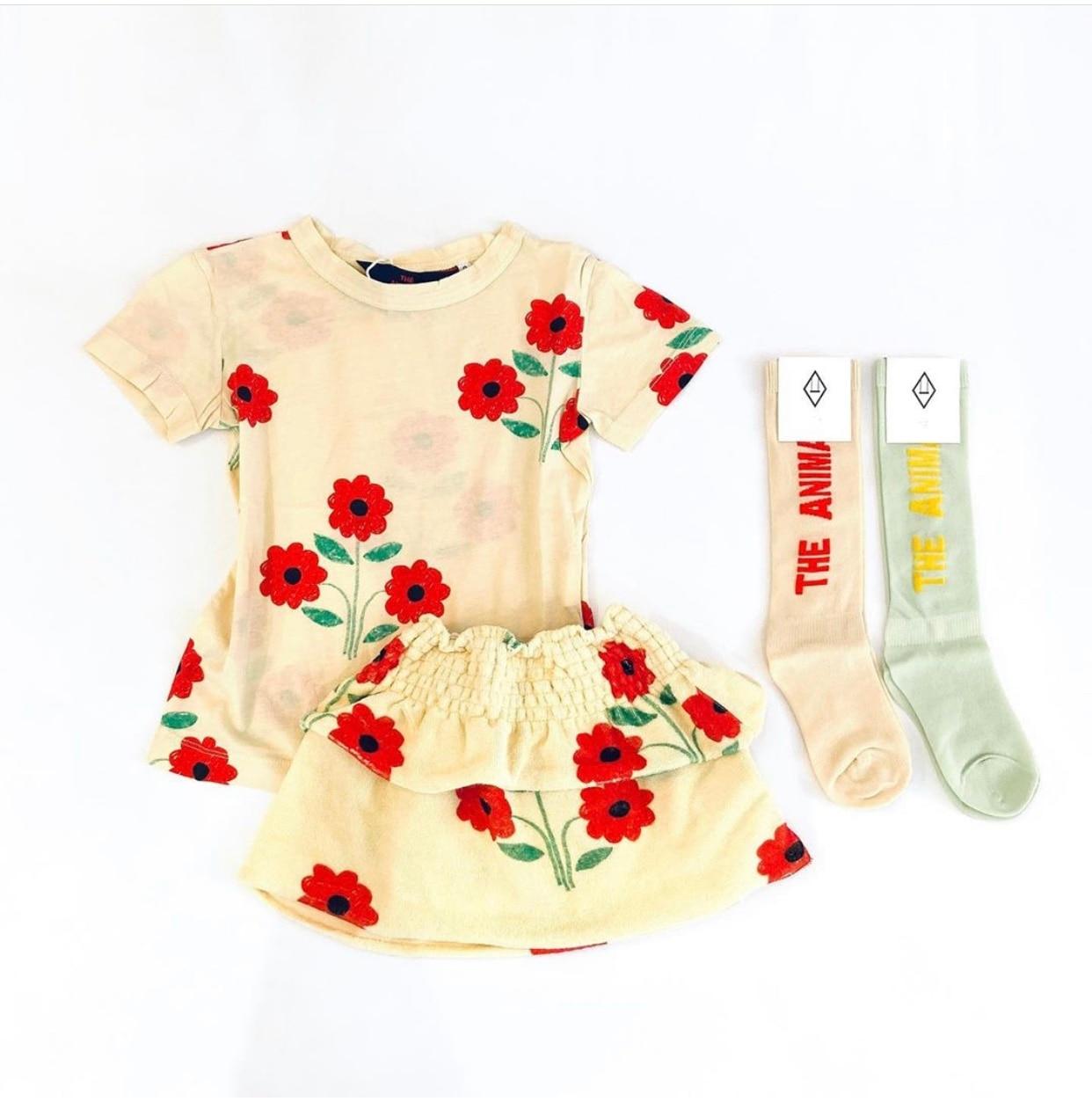 Kids Tube Socks Spring Autumn 2021 New TAO Brand Toddler Girls Fashion Spain Design Infant Baby Knee High Socks Girls Boy Socks 6
