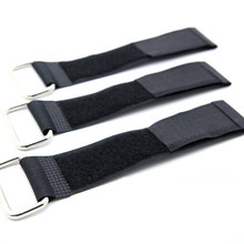 Nylon material packing straps tied with black iron buckle Hooks and Loops straps clothing items storage finishing belt