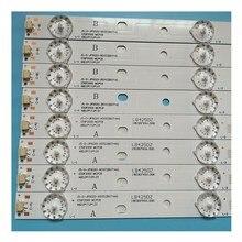 8Pcs ไฟ LED Strip สำหรับ PHI ริมฝีปาก50 JS D JP5020 A51EC B51EC D50 F2000 LED50FHDS E50F2000