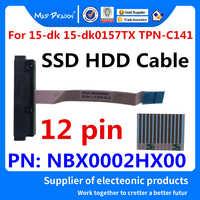 Nouveau câble de disque dur SATA HDD câble connecteur pour HP pavillon Gaming 15-dk 15-dk0157TX TPN-C141 FPC52 NBX0002HX00 12 broches