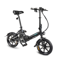 Folding Power Assist Eletric Bicycle 14 Inch Moped E Bike 250W Brushless Motor 36V 5.2AH Eletric Bike