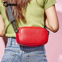 Crossbody Bags For Women Chest Bag 2019 Flap Bag 100% Cowhide Leather Handbags Lady Messenger Bag For Female Shoulder Bag Bolsas