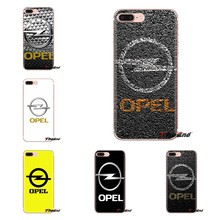 Para samsung galaxy s2 s3 s4 s5 mini s6 s7 borda s8 s9 mais nota 2 3 4 5 8 fundas coque macio transparente caso escudo do carro opel astra(China)