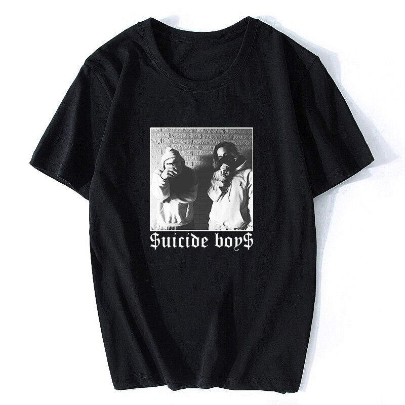 Men T Shirt  $uicideboy$ Suicide Adult Mens T-Shirt Suicideboys Hip Hop Rap Shirt Men Cotton Tee Classic Cool T Shirt Plus Size