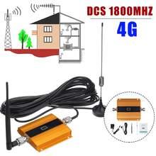 Double-antenne 4G Signal Booster répéteur téléphone portable GSM 2G 4G LTE 1800MHz LCD affichage maison téléphone portable DCS Signal Booster