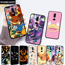 cartoon pokemons eevee pika Silicone soft Case for