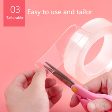 Transparent-Tape Adhesive-Tape Gap Water-Seal-Tool Cleanable Kitchen Home