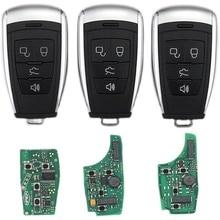 Auto Keyless Intelligente Afstandsbediening Sleutel 433Mhz Voor Baic EU5 BJ40 BJ20 X65 X55 D70 D60 D50 Auto Slimme Afstandsbediening sleutel