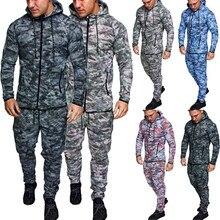 Мужской комбинированный пуловер на пуговицах с длинными рукавами и капюшоном, топы в стиле милитари, Блузка Для Бега Спортзала занятий спортом, тренировочная походная одежда для кемпинга