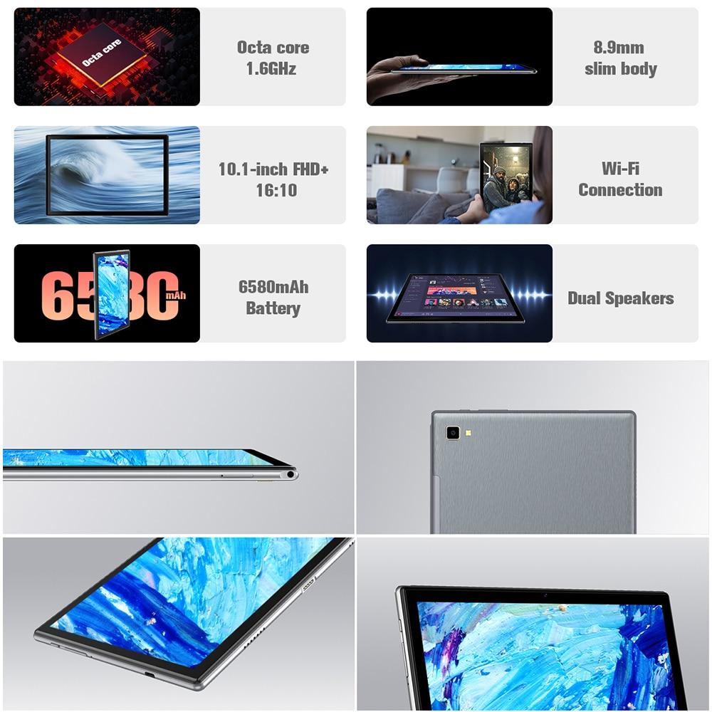 Blackview Tab 8E 10.1 Inch Android 10 WIFI Tablet PC 3GB RAM 32GB ROM 13MP Rear Camera 6580mAh Battery Octa Core Dual Speakers 2