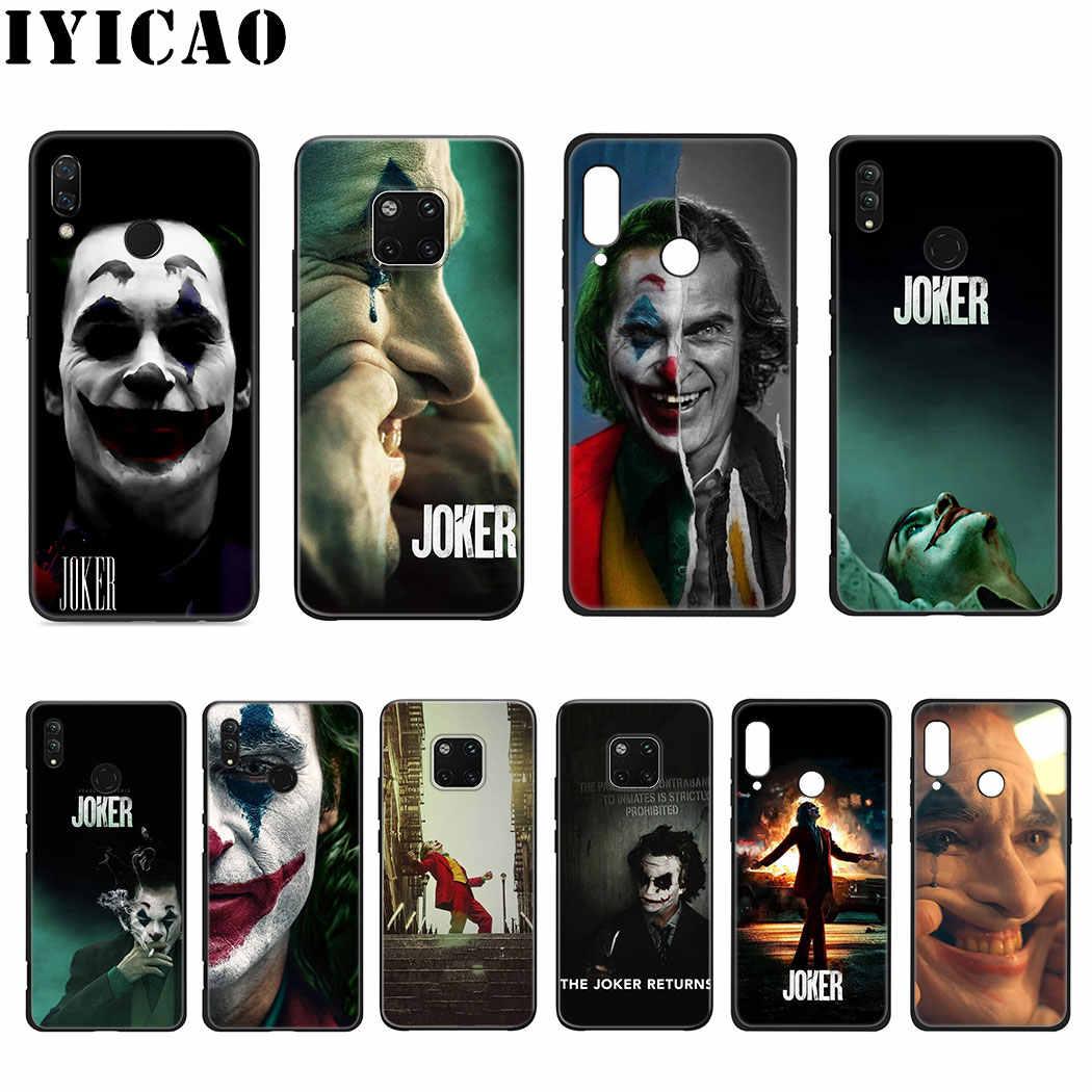 Joaquin Phoenix joker filme Silicone Macio para Huawei Nova 5i 4 3 3i 2i 10 2 Lite para Huawei Companheiro 20 30 Lite Pro Cover