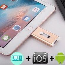 OTG USB флэш-накопитель 8G 16G 32G 64G 128G для iPhone X/8/7 Plus/7/6s Plus/6s/5/5s/SE и ipad накопитель iflash Memory Stick pendrive 3,0