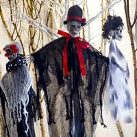 Fantasma di Halloween Decorazione Del Partito di Halloween Streghe Fantasma Festival Panno di Grandi Dimensioni Appeso di Orrore Del Fantasma Del Pendente Puntelli Decorazione
