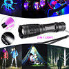 10000LM 2in1 UV Flashlight LED Linternas Torch 395nm Ultraviolet Urine Detector for camping Carpet Pet Urine Catch Scorpions promo