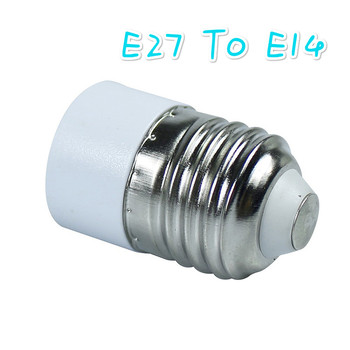 E27 To E14 Conversion Lamp Holder Adapter Converters Socket Adapter LED Holder Light Bulb Base Adapter AC 85V -265V Plug Bases image