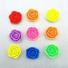 10 шт. мини Мультяшные цветы в форме гидрогели для выращивания воды Бусины Красочные розы для свадьбы украшения дома волшебные игрушки
