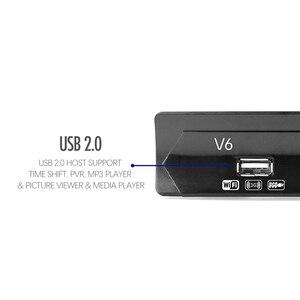 Image 4 - Mais novo dvb s2 hd 1080p receptor de tv por satélite dvb s2 receptor de satélite europa suporte decodificador youtube potência vu biss sintonizador de tv