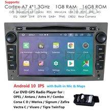 Android 10 reproductor DVD coche 2 Din Radio GPS para Opel Astra H Meriva Vectra Antara Zafira Corsa C D Vivaro Veda Vauxhall Multimedia