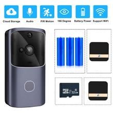 ZILNK akıllı ev kapı zili WIFI kablosuz Video interkom kapı zili kamera monitörü akülü uzaktan kumanda iOS Android