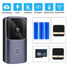 ZILNK smart home campanello WIFI videocitofono senza fili videocitofono Monitor videocamera telecomando alimentato a batteria iOS Android