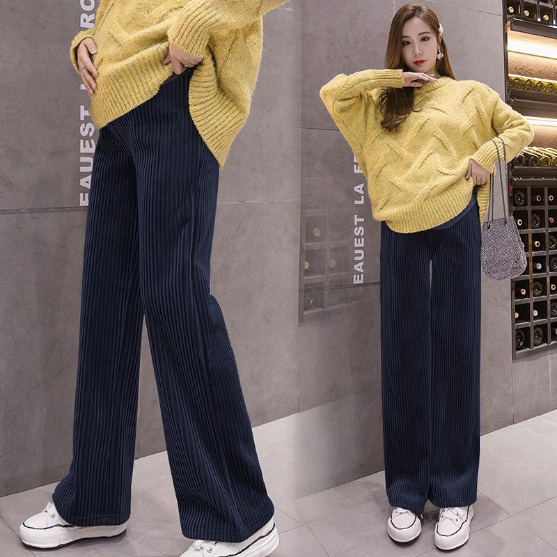 Pantalones De Pana Para Embarazadas Pantalones De Premama Para Novio Ropa Para Mujer Embarazada Pantalones Holgados De Cintura Alta Pantalones Y Pantalones Pirata Aliexpress