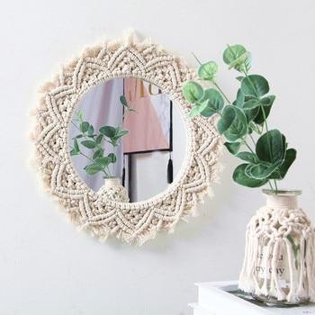 Macrame Mirror