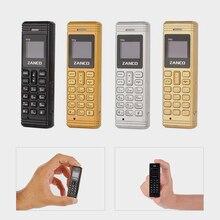 2G Zanco זעיר Fone הקטן ביותר בעולם Fone אוסף מתנה חינם עם כל קנייה Bluetooth 3.0 ארוך המתנה זעיר טלפון