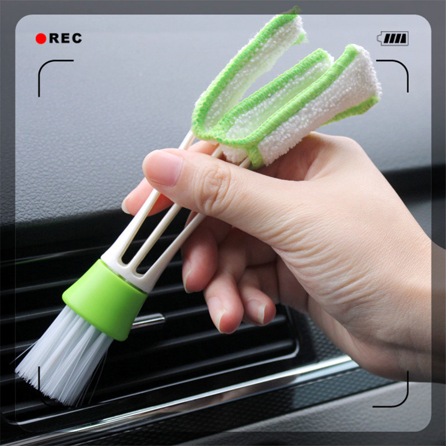auto Car Clean Tools Cleaning Brush Vent outlet for Nissan NV200 Nuvu NV2500 Forum Denki 350Z Zaroot March Murano TIIDA image