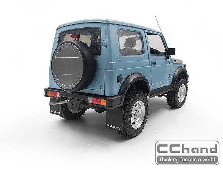 Metal spare tire mount support bracket for CAPO SIXER1 Suzuki Samurai rc car toy