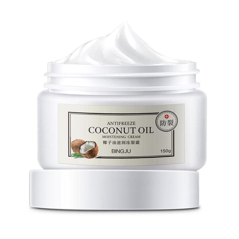 Moisturizing Coconut Oil Antifreeze Cream Skin Hand Mask Anti-aging Skin Cream Winter Face Hand Care Nourishing Skin Care