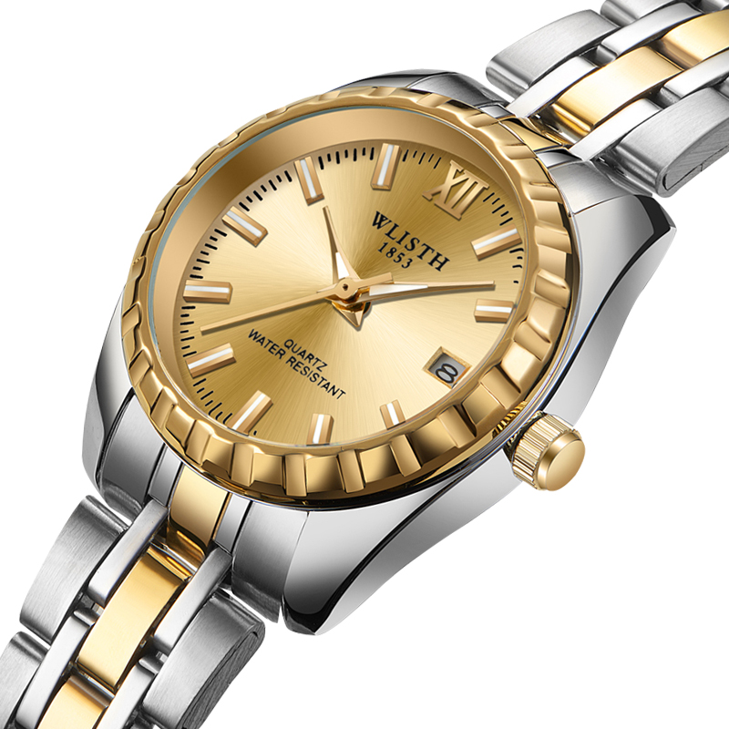 Lovers Watch Steel Band Waterproof Men Students Watch Women Manufacturers Wholesale  With Calendar Wholesale Manufacturers