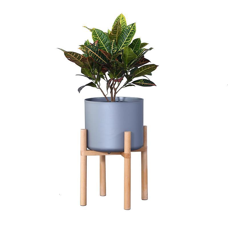 Soporte Plantas Interior Living Room Pot Wood For Suporte Flores Rack Stojak Na Kwiaty Balcony Flower Dekoration Plant Shelf|Plant Shelves| |  - title=