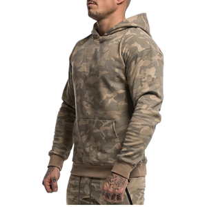 Image 5 - Mens Sports Suits Male Set Jogging Clothing Ropa De Marca Chandal Casual Hoodie Set Camouflage Big Pocket Cotton Dresy Tracksuit