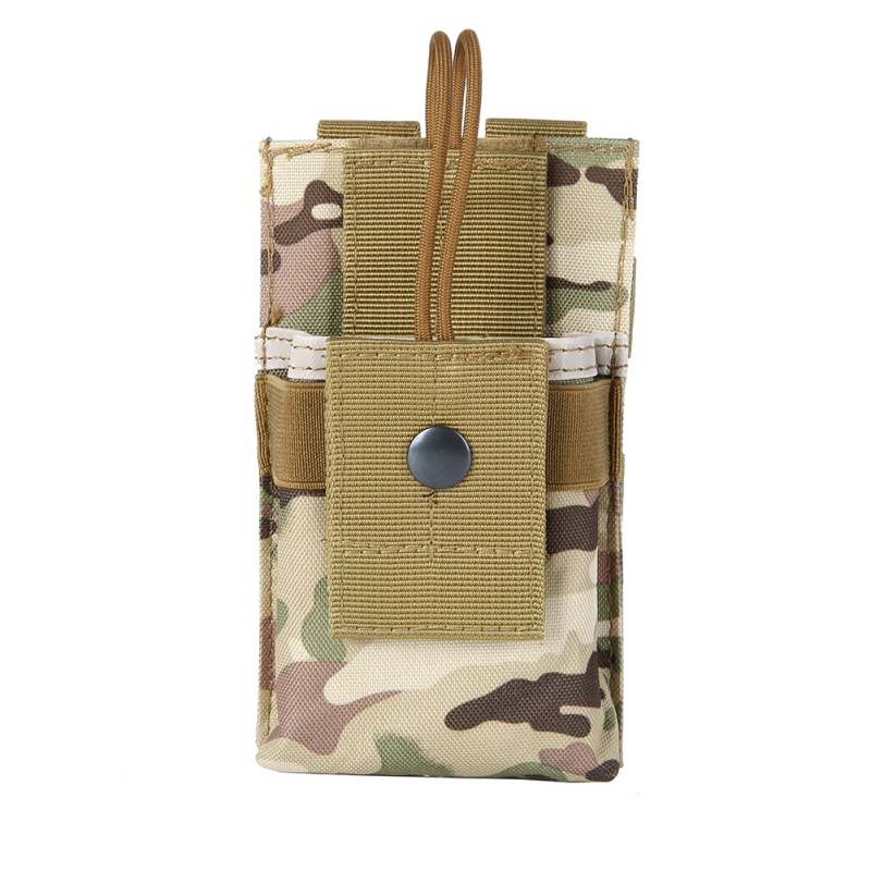 Adjustable Tactical Interphone Bag Radio Case Holder Holster Walkie Talkie Holster Molle Pouch Open Top Magazine M4 Mag Pouch 3