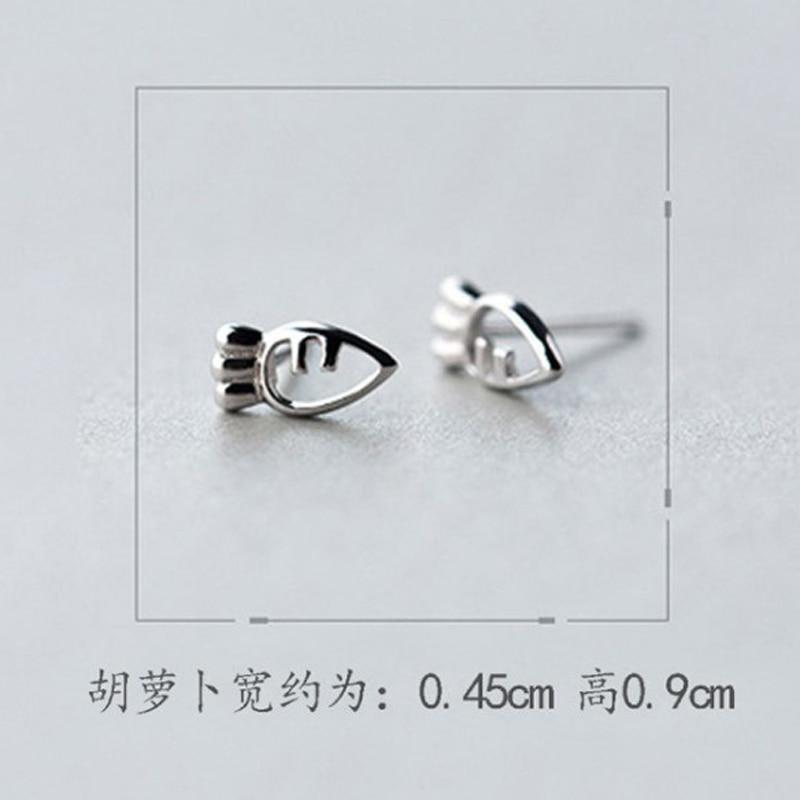 Mini Planet Antler Halloween Ghost Ear Studs Nonallergic Cute Small Piercing Earring Tiny Ear Jewelry for Women Girls Gift