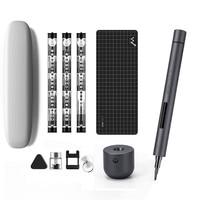 Mini destornillador eléctrico Wowstick 1F Pro, Kit de controlador de tornillo de potencia inalámbrico recargable, con luz LED y batería de litio