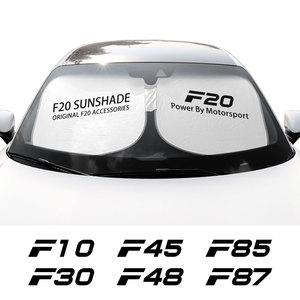 Image 2 - אביזרים לרכב עבור F10 F20 F30 F31 F11 F34 F01 F12 F18 F32 רכב שמשה קדמית שמשיות שמשייה כיסוי אוטומטי אנטי UV רפלקטור