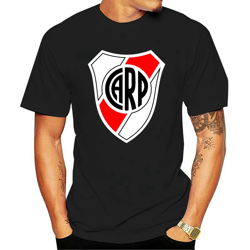 Printed Escudo Del Club River Plate Poster Black Streetwear Men Women Hoodies Sweatshirts
